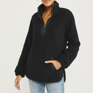 The Essential A&F Sherpa Fleece